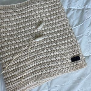 Coach Knitted Loop Scarf